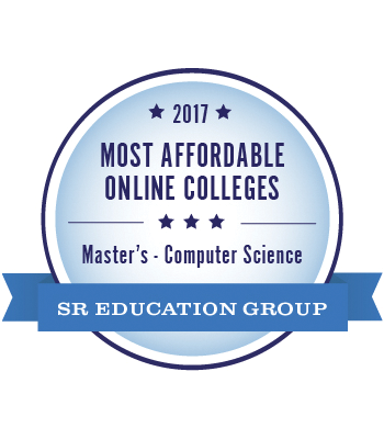 Most Affordable MS in Computer Science badge