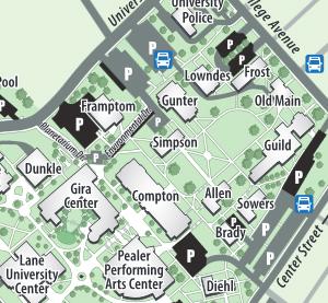 Campus Map no click