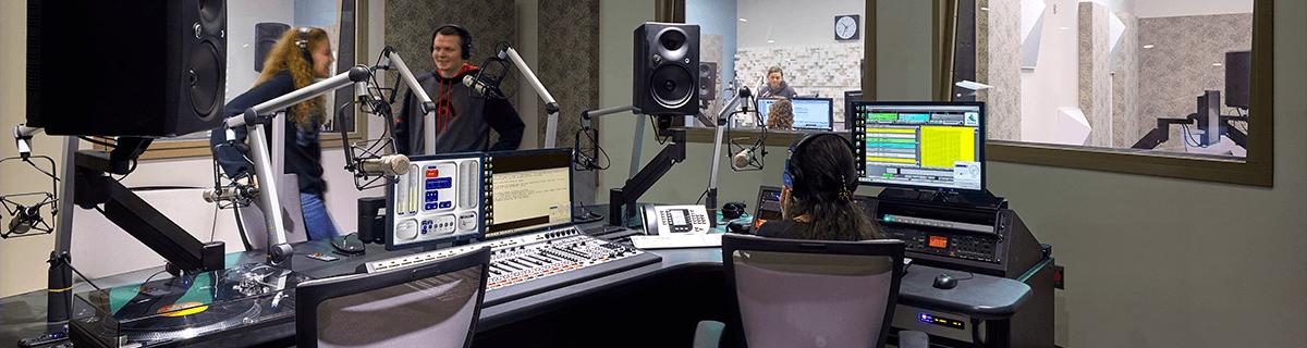 WFWM's main studio