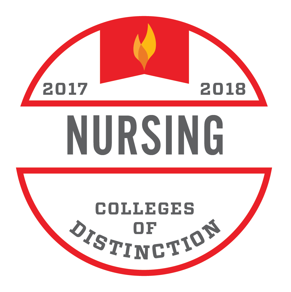 Colleges of Distinction-Nursing Badge