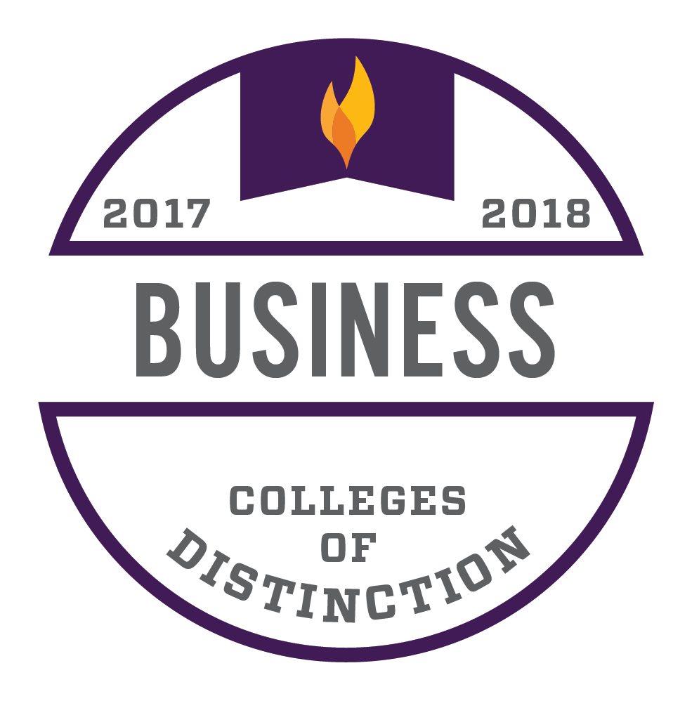 Colleges of Distinction-Business badge
