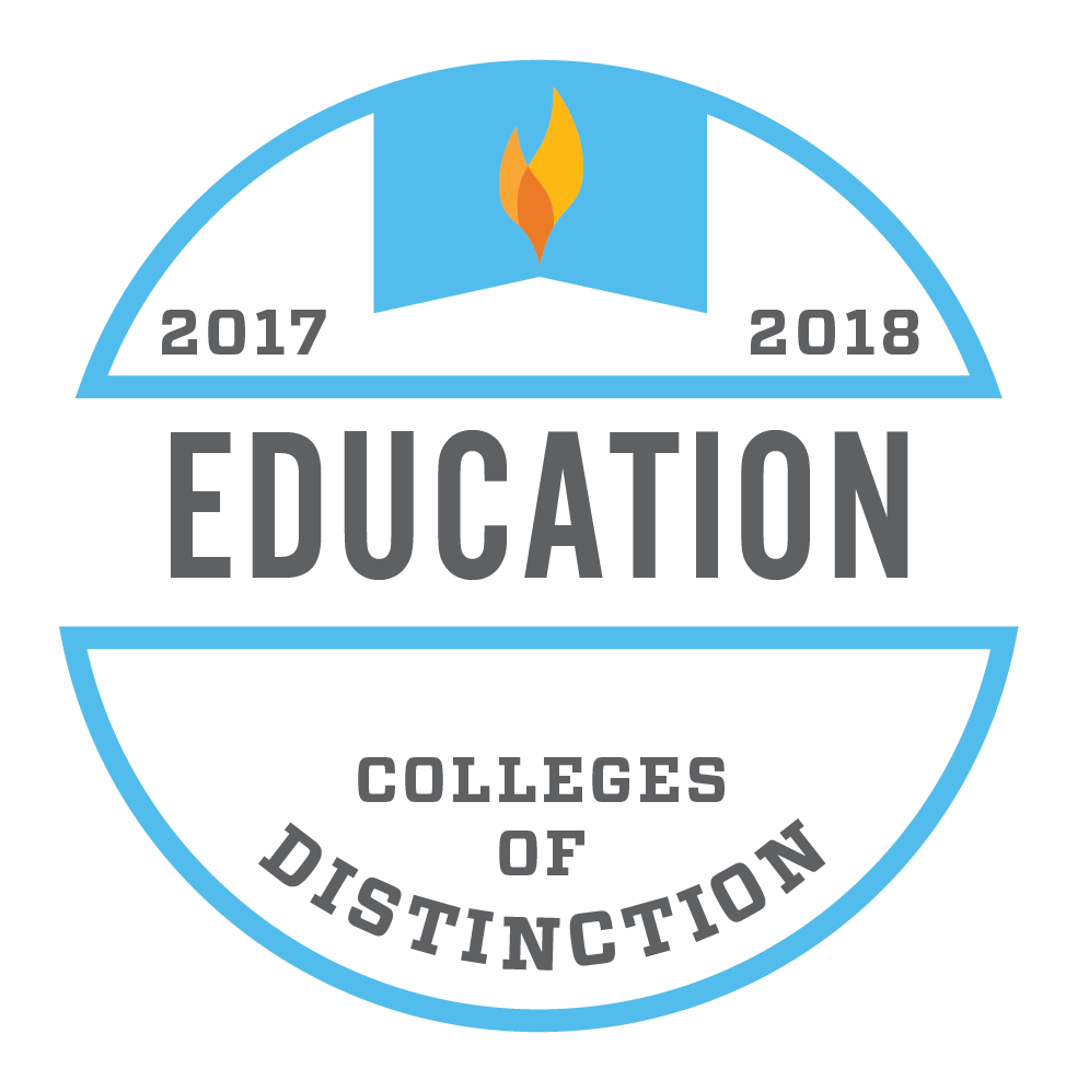 Colleges of Distinction-Education badge