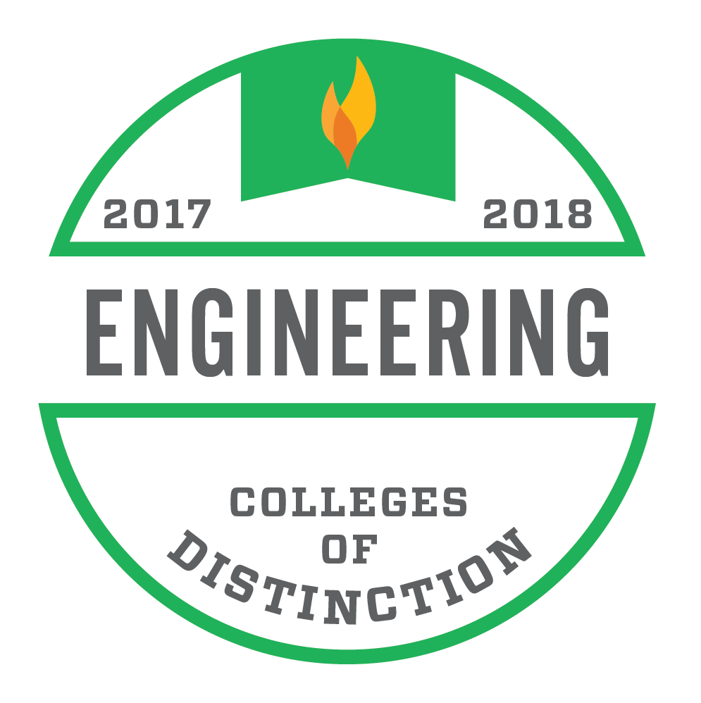 Colleges of Distinction-Engineering Badge