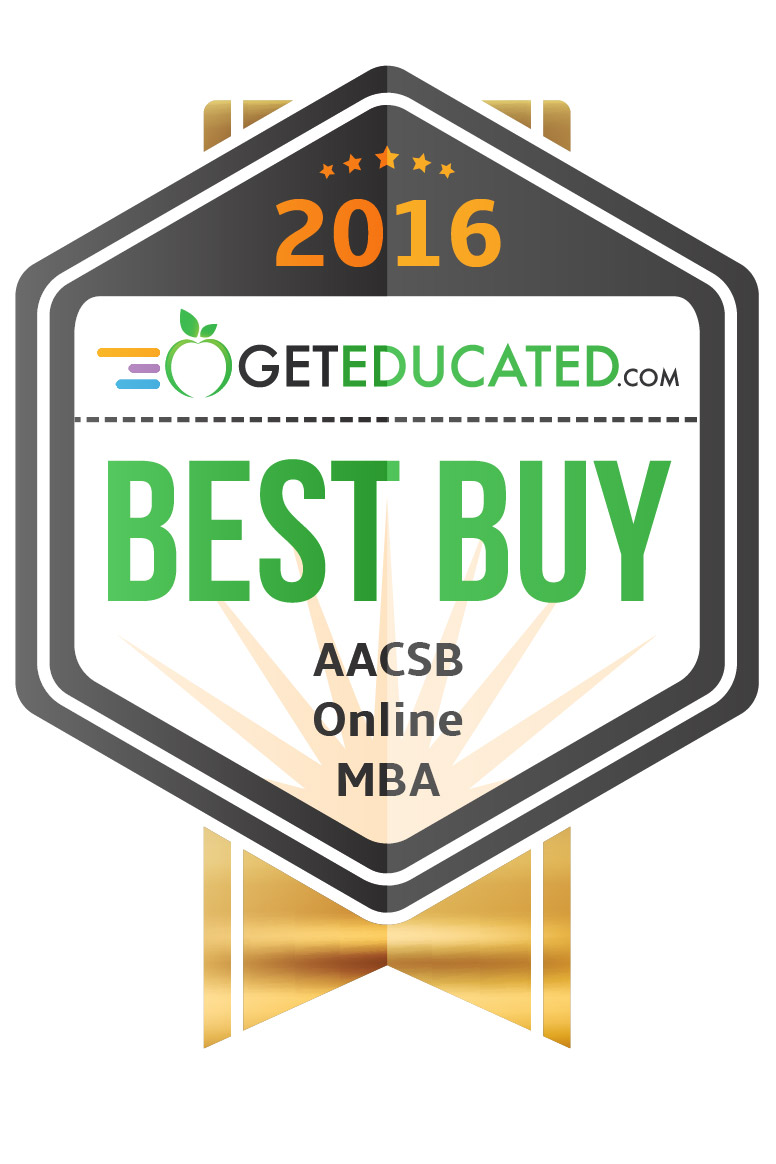 MBA AACSB best buy badge