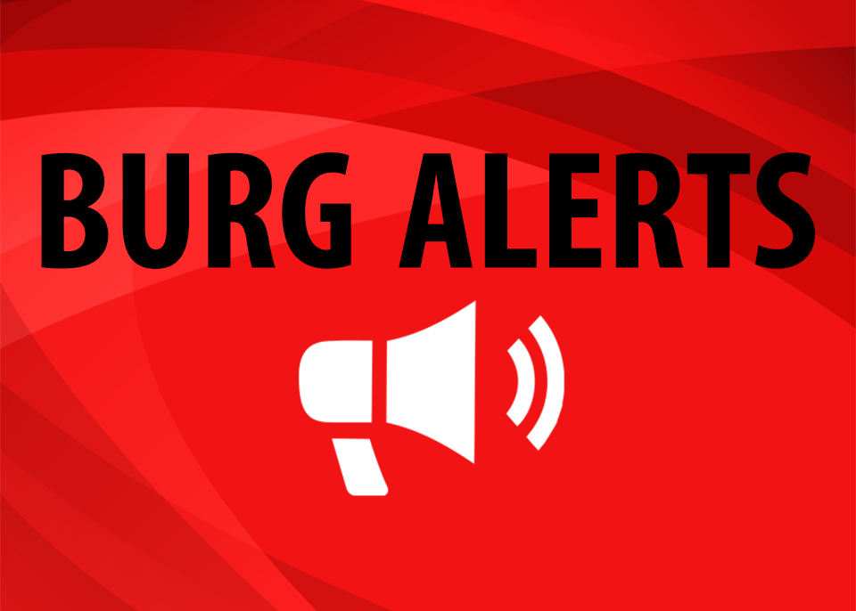 burg alerts graphic