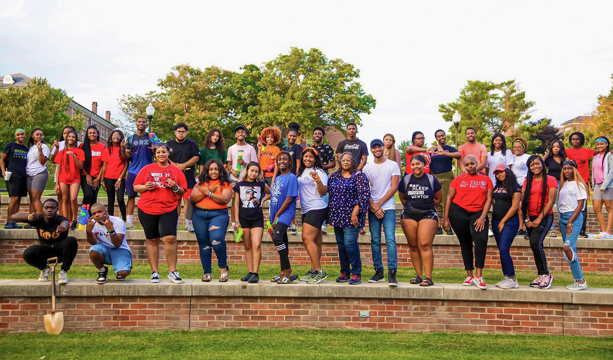 group photo of National Council of Negro Women FSU Section