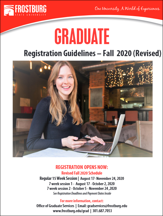 2020 Fall Graduate Guidelines