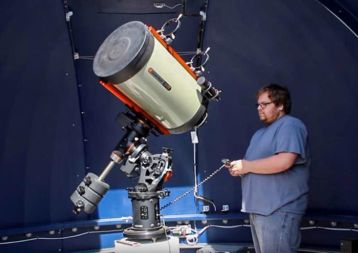 First Light at Frostburg State Observatory