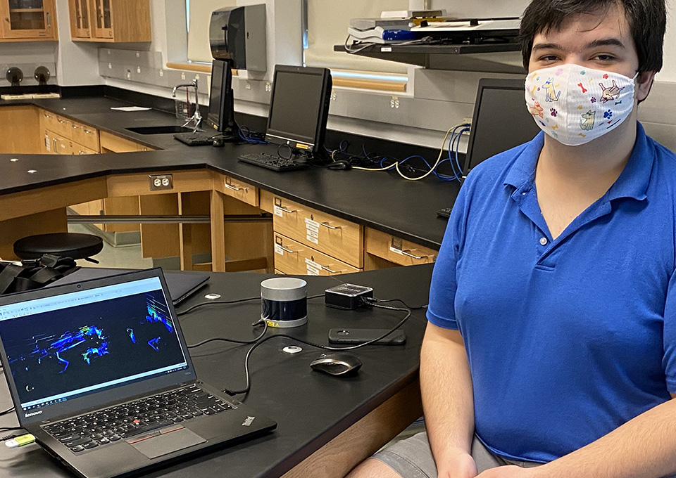 FSU professor, student research self-driving vehicle sensors