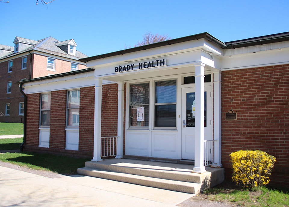 Brady Health Center entrance