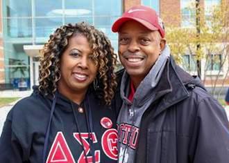 Leonard Wright '88 and Angie Terrell Wright '87
