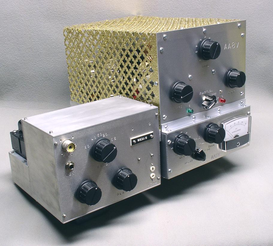 The AA8V 6146B Amplifier - Main Page and Exterior Photos