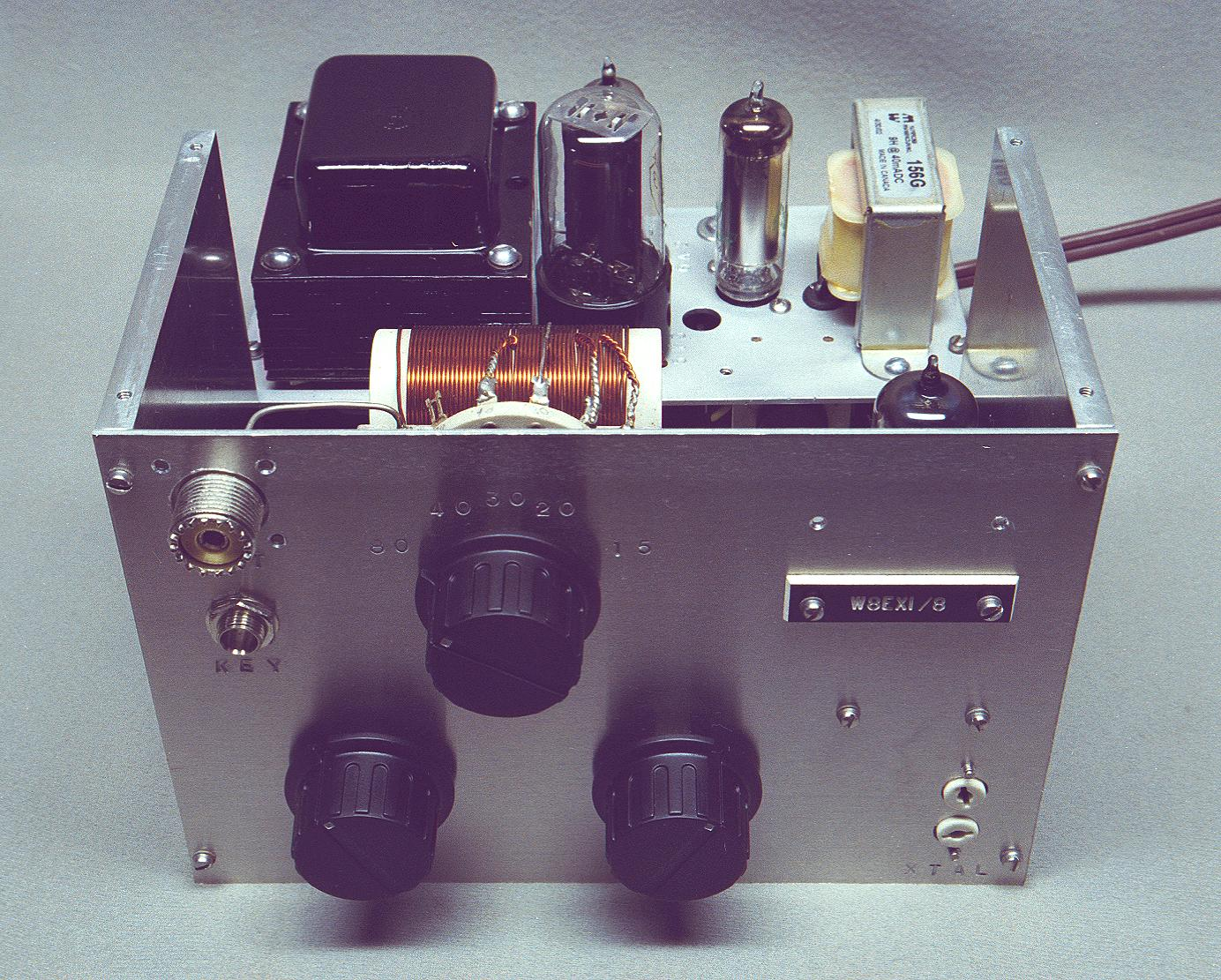 The AA8V/W8EXI 6CL6 One-Tube Transmitter - Introduction and