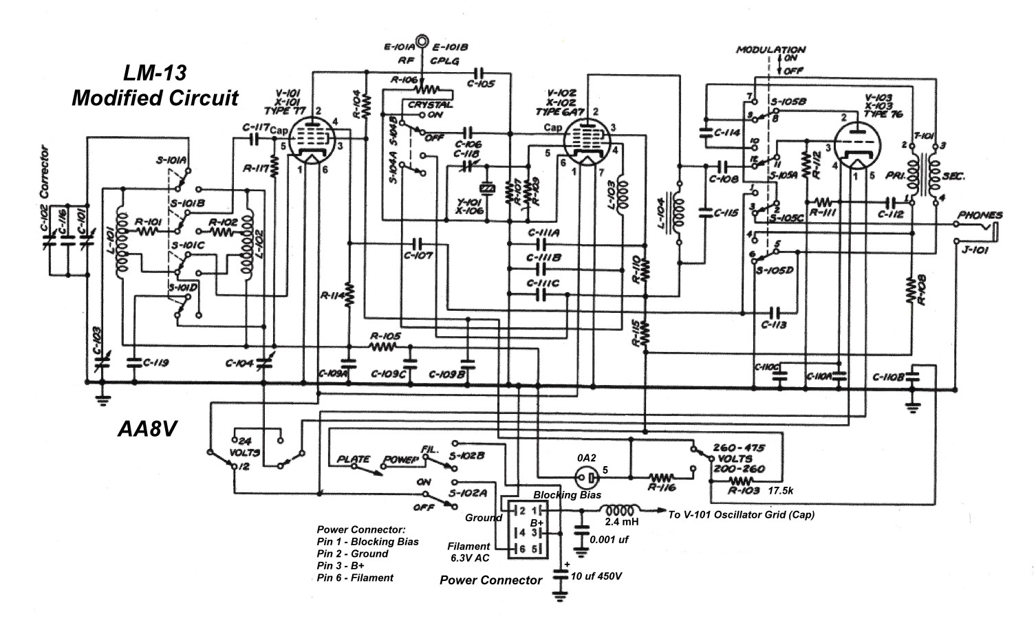 Using The Lm-13 Frequency Meter As A Vfo