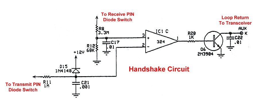 Electronic Tr Switching And The Ameritron Qsk 5 Handshake Circuit