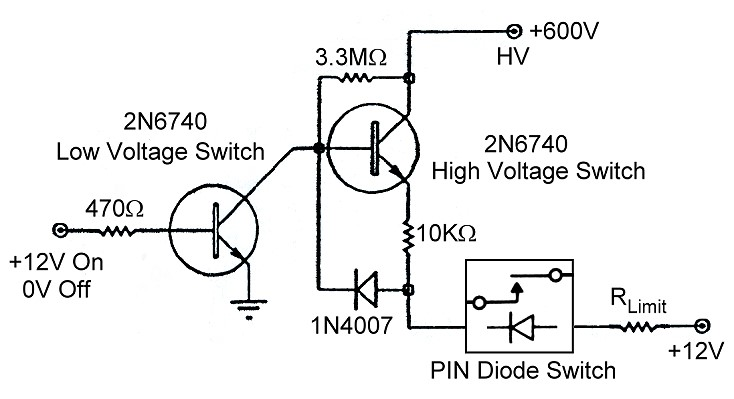Electronic T/R Switching and the Ameritron QSK-5 - PIN