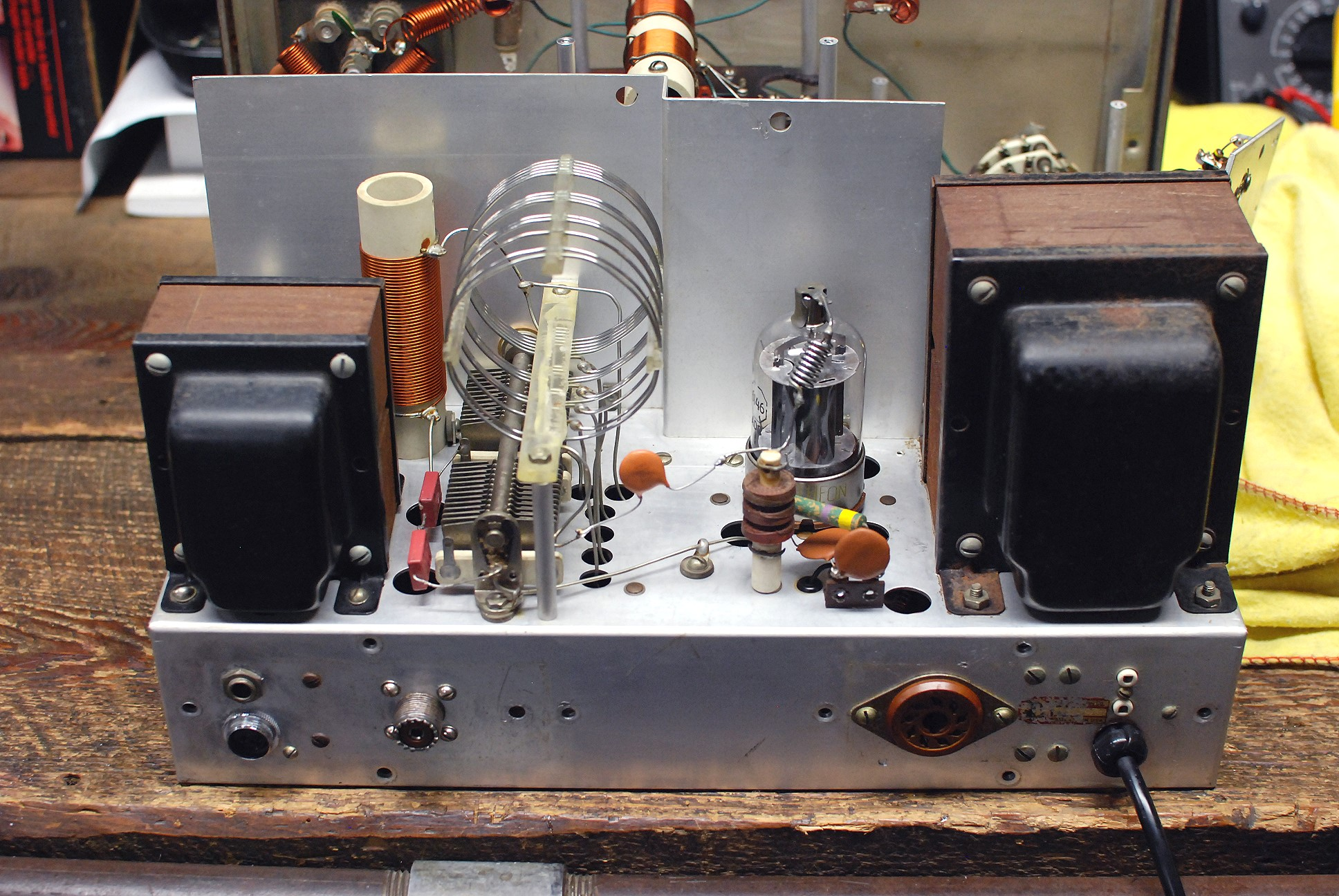 The Johnson Viking Ranger Restoration Am Modulator And 50w Rf Output Stage Click Here For A Super Detailed View