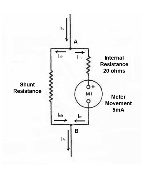 Ohm Meter Schematic Diagrams on