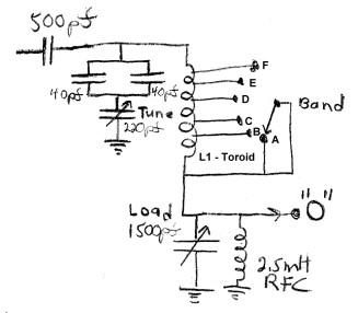 Tank Circuit Parallel
