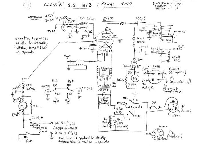 Wingfoot 813 Circuit Description and Schematic Diagram on