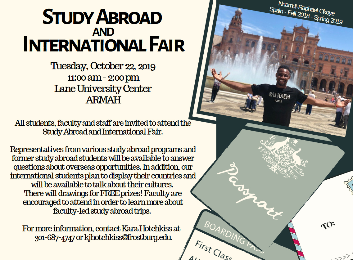 Study Abroad and International Fair
