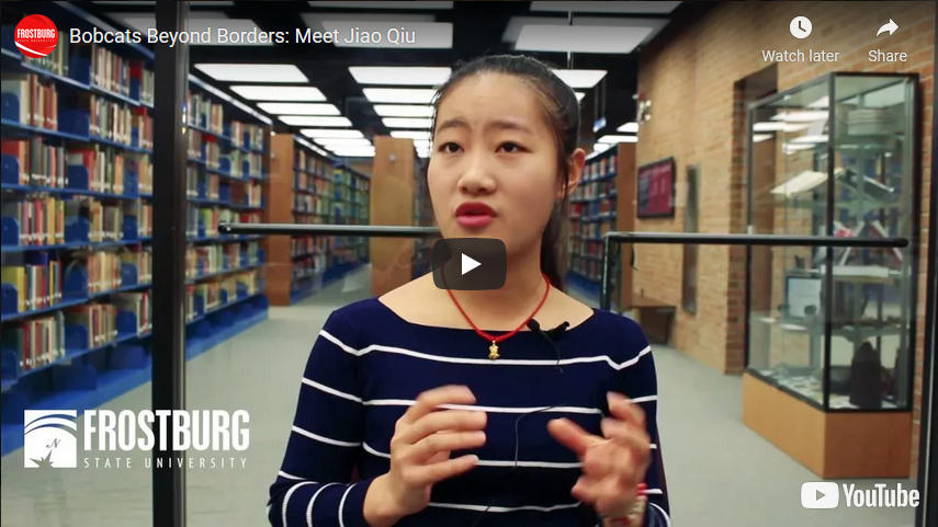 Bobcats Beyond Borders: Meet Jiao Qiu