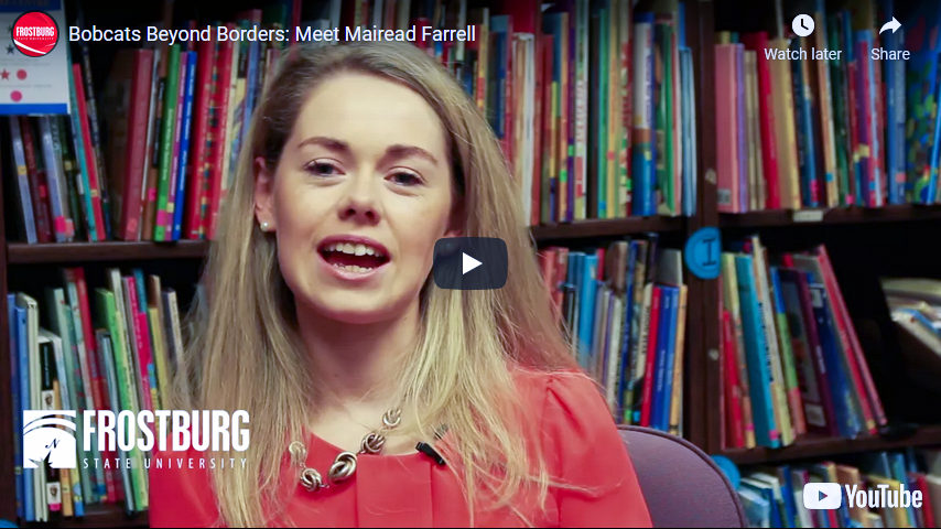 Bobcats Beyond Borders: Meet Mairead Farrell