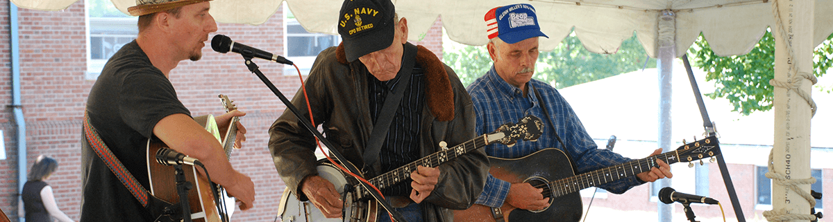 performers at the Appalachian Festival